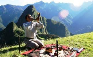 Chamane au Pérou