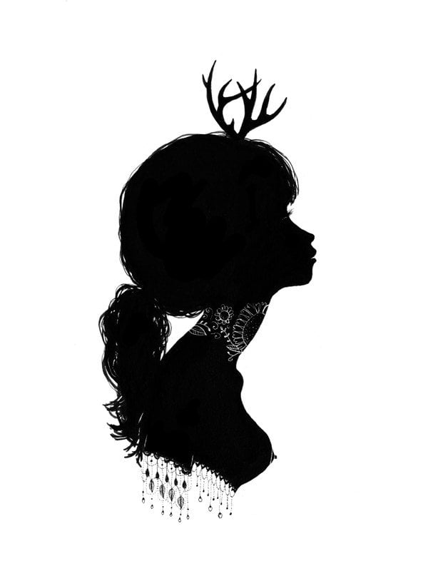 antlers_silhouette2