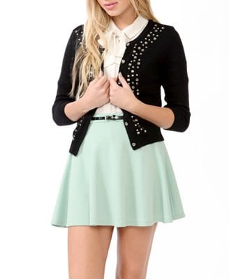 Bejeweled 3:4 Sleeve Cardigan Was-CAD $39.80 Now-CAD $18.99