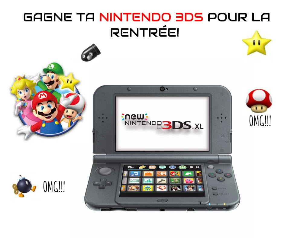 CONCOURS Nintendo 3DS