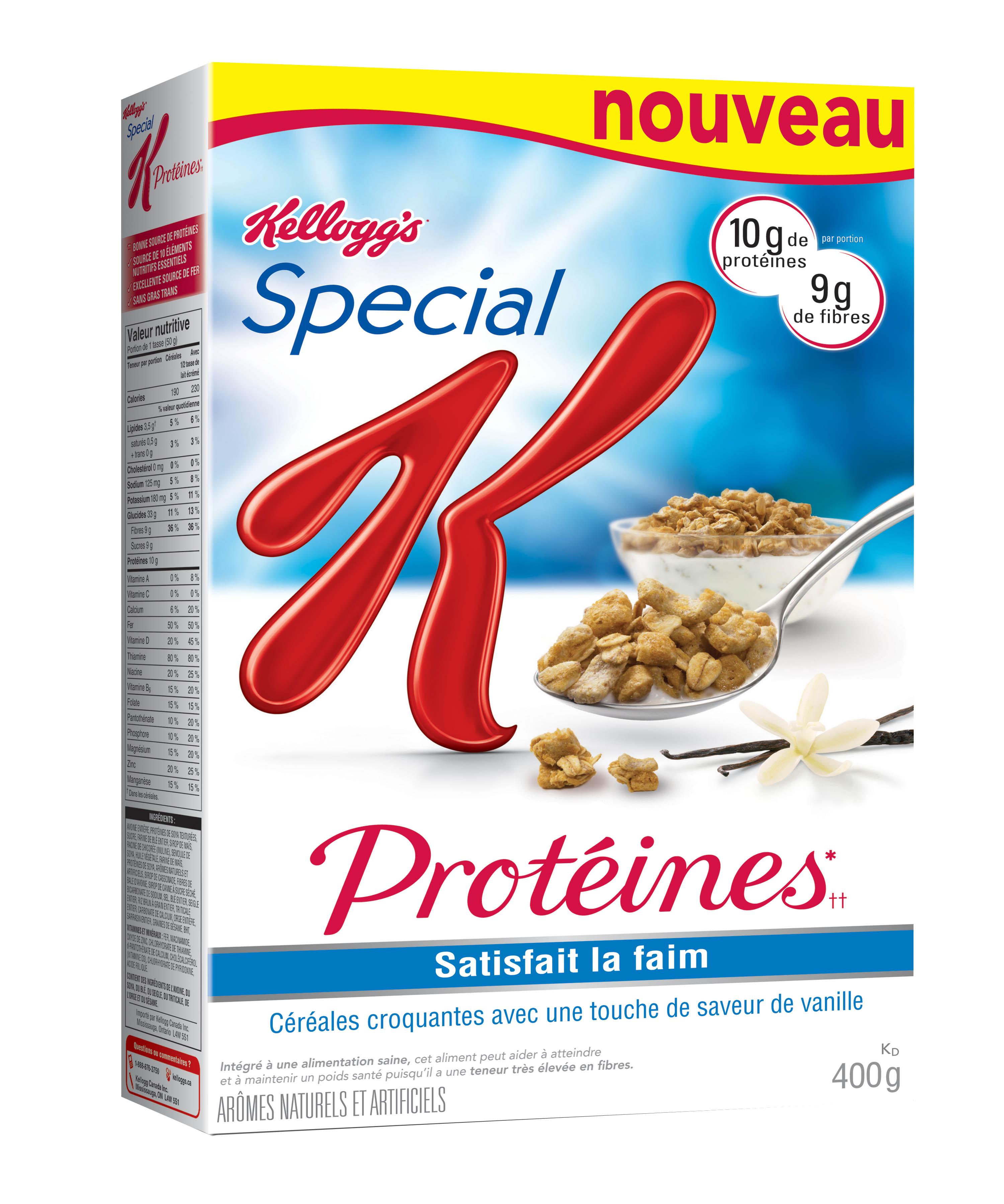 Céréales Special K Protéines de Kellogg 2