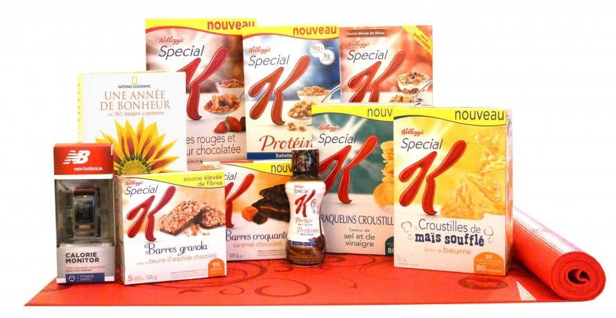 Concours Kellogg's Special K - Janvier 2014