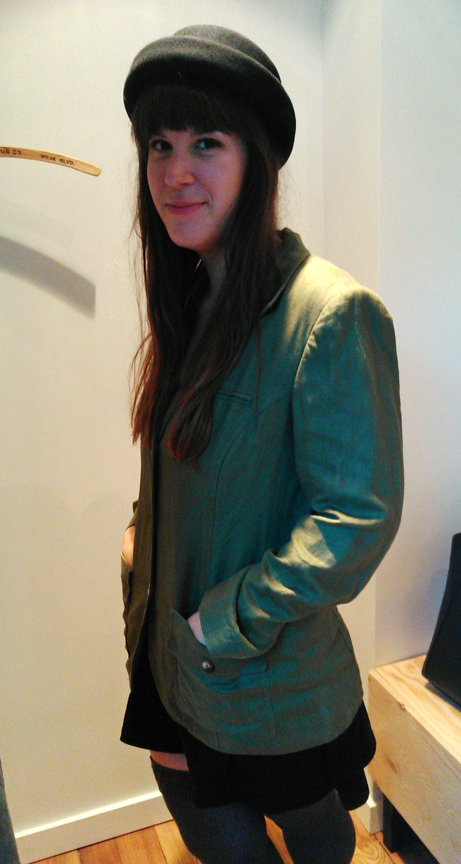 La trouvaille d'Eliane: ce veston en lin!