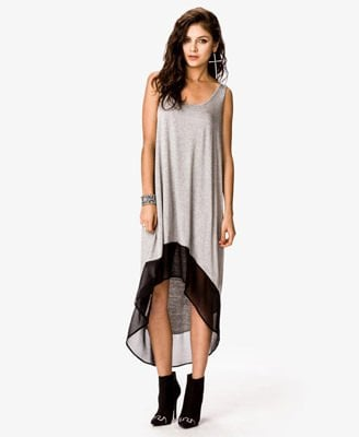 Heathered High-Low Dress CAD $15.80