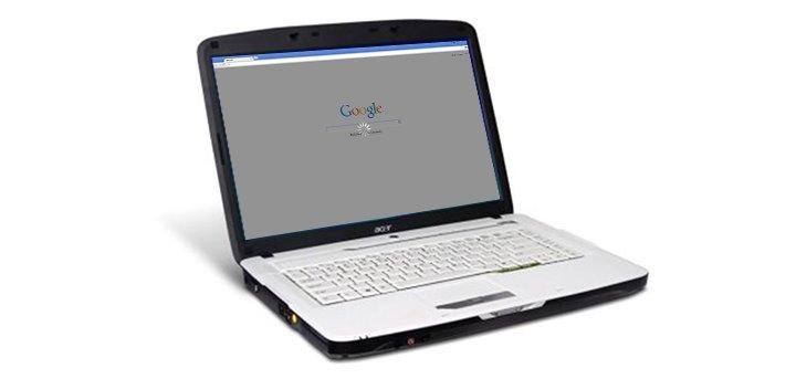 Mathieu Phaneuf Acer Aspire Google Chrome loader | Boucle Magazine