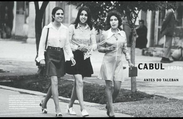 Voici à quoi ressemblait les campus universitaires en 1970 avant l'arrivée des Talibans