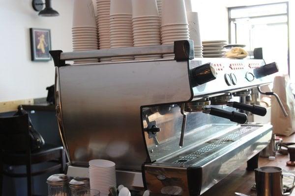 machine méchant café