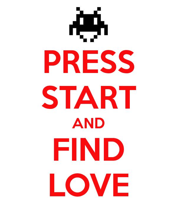Press Start and Find Love