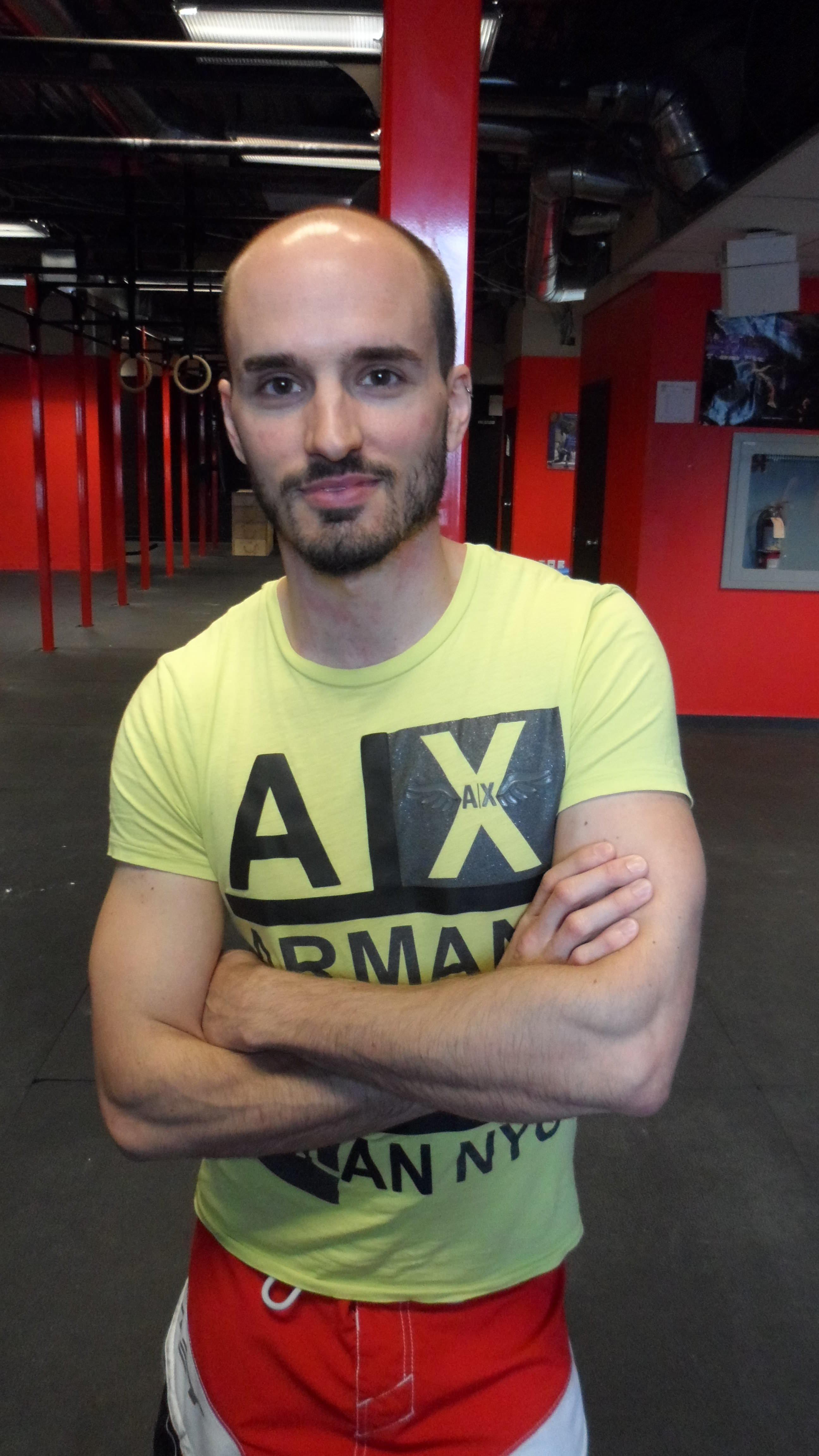 Marc-Antoine - 33 ans - membre chez Crossfit Guerriers