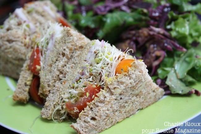 sandwich vege pate