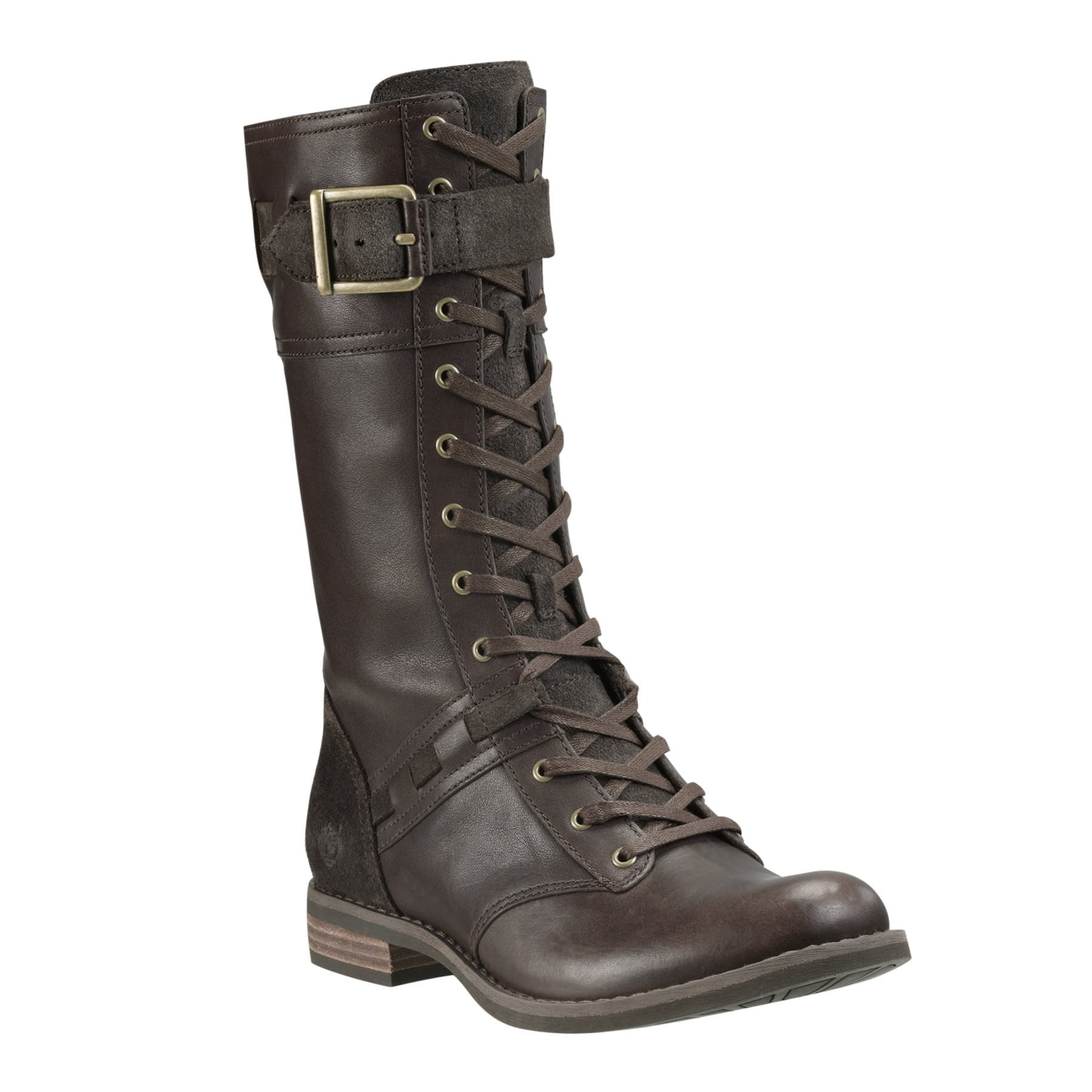 Timberland Earthkeepers Savin Hill Mid Boot (Dark Brown Forty)