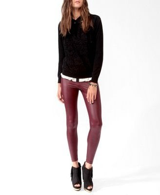 Tonal Lace Overlay Pullover Was-CAD $21.80 Now-CAD $10.99