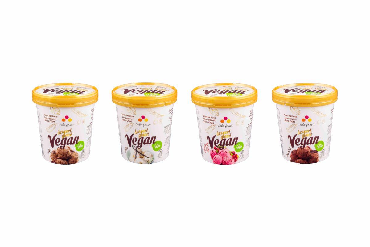 Desserts glacés Vegan Solo fruit Boucle Magazine