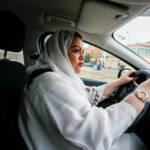 Les Saoudiennes au volant!