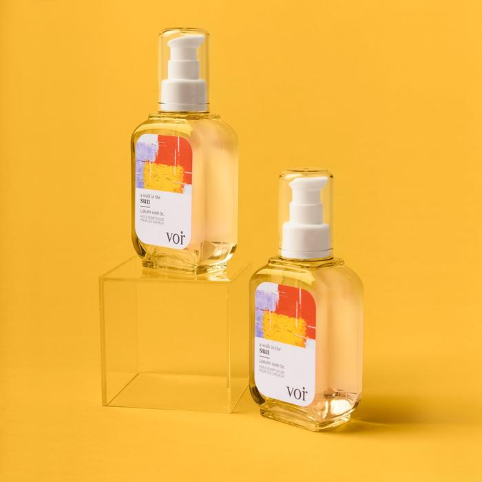 huile somptueuse cheveux walk in the sun Voir Haircare