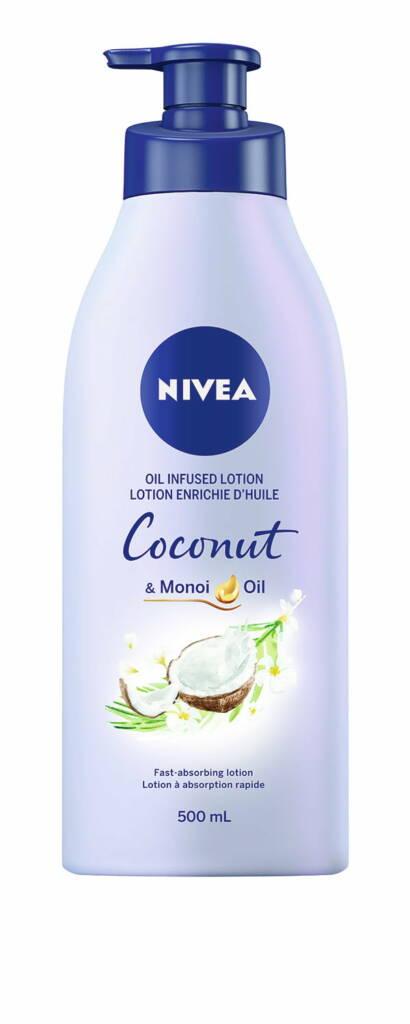 nivea lotion coconut