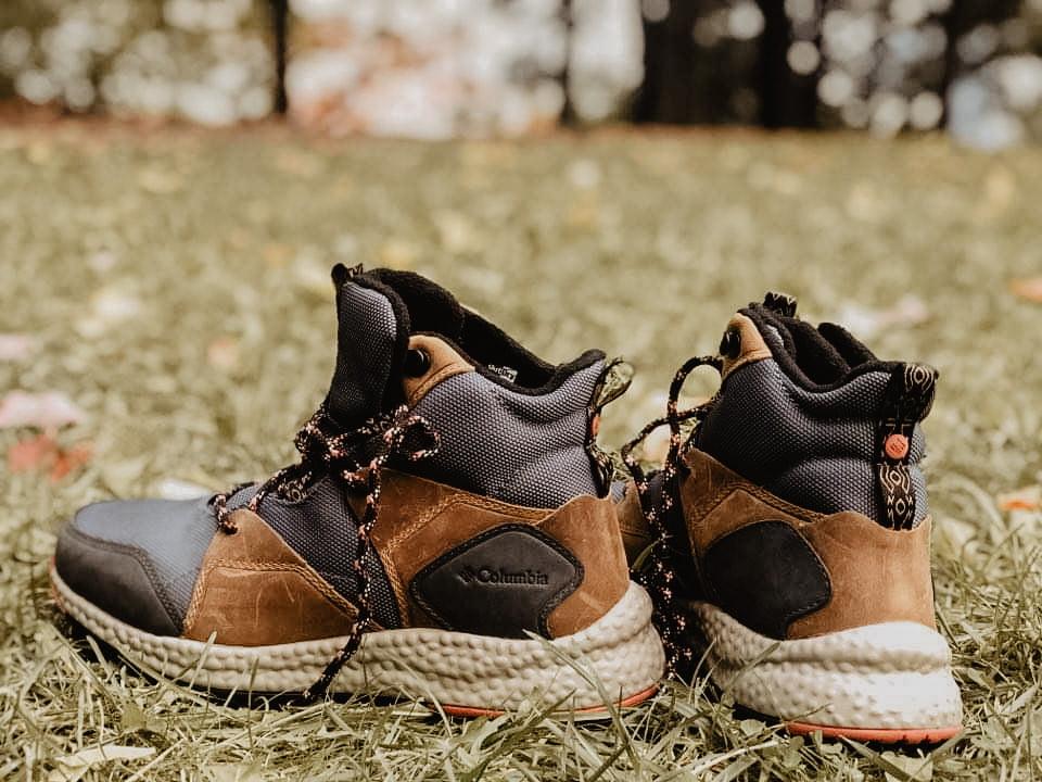 bottes de marche columbia