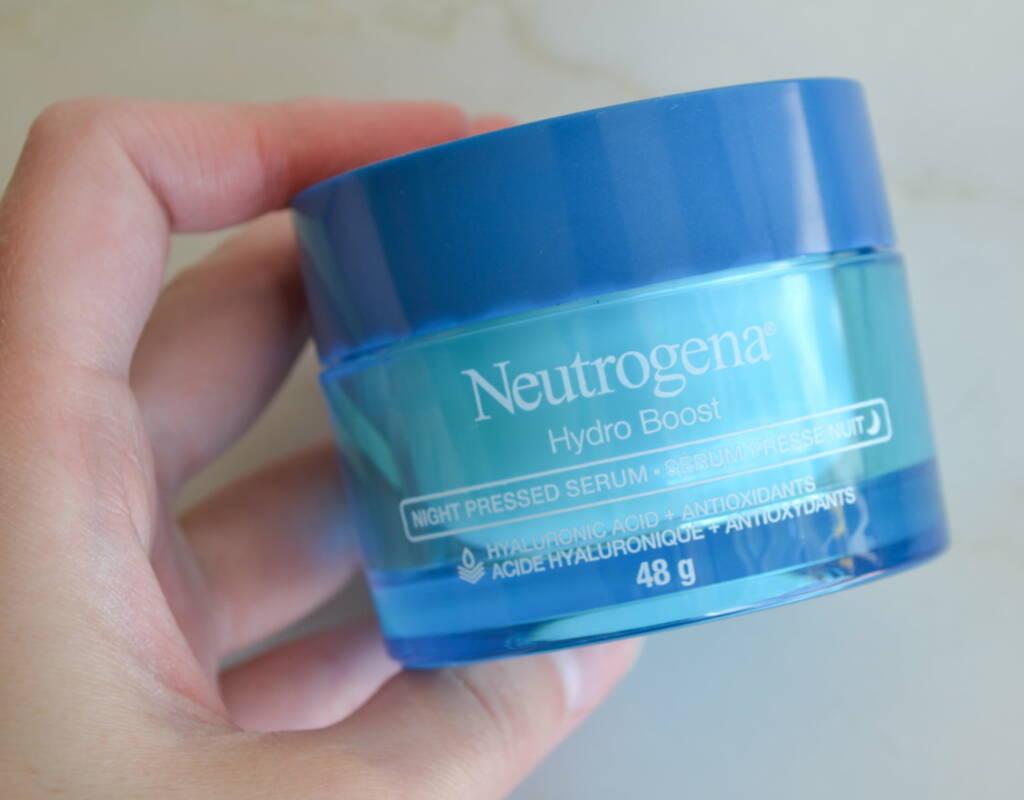sérum nuit hydro boost neutrogena