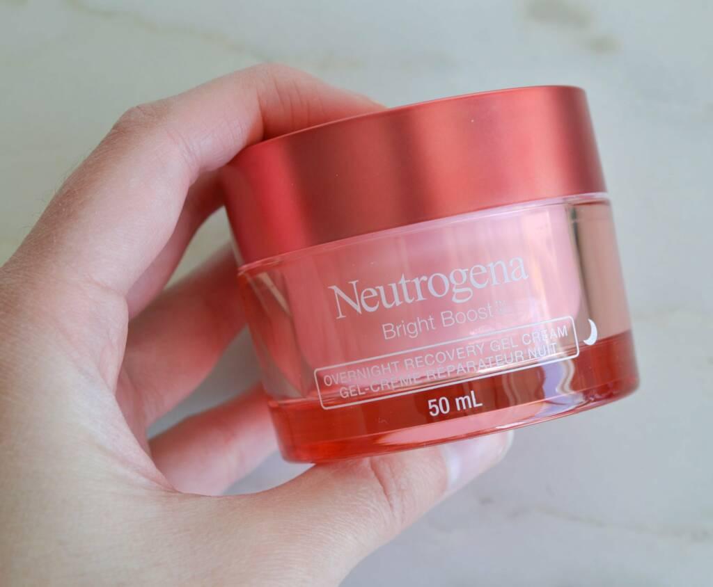 gel nuit bright boost Neutrogena