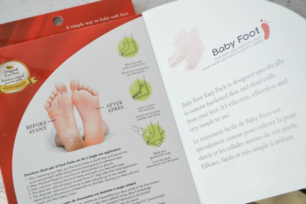 masque pieds BabyFoot